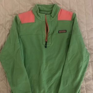 Women's Vineyard Vines 1/4 Zip Fleece Size Small